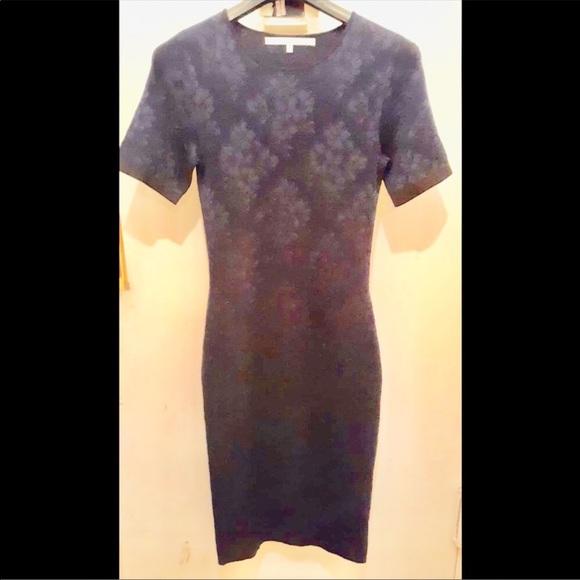 RACHEL Rachel Roy Dresses & Skirts - RACHEL ROY SHORT SLEEVES NAVY SWEATER DRESS